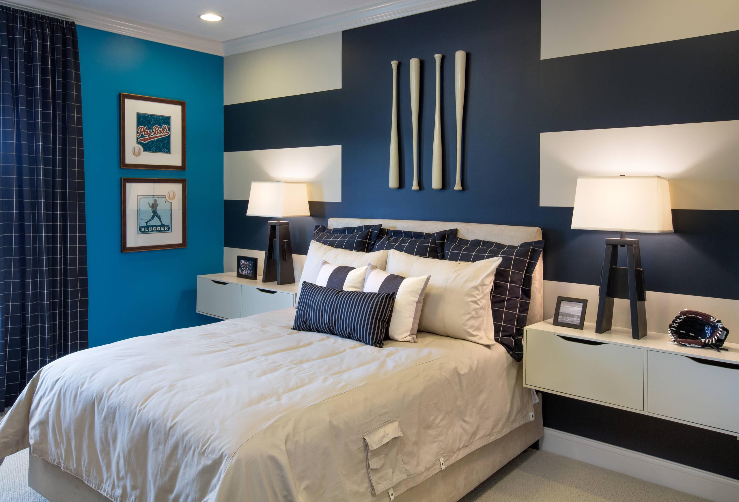 blue boy room houzz