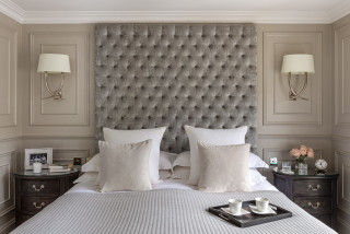 Grey White Bedroom Ideas And Photos Houzz