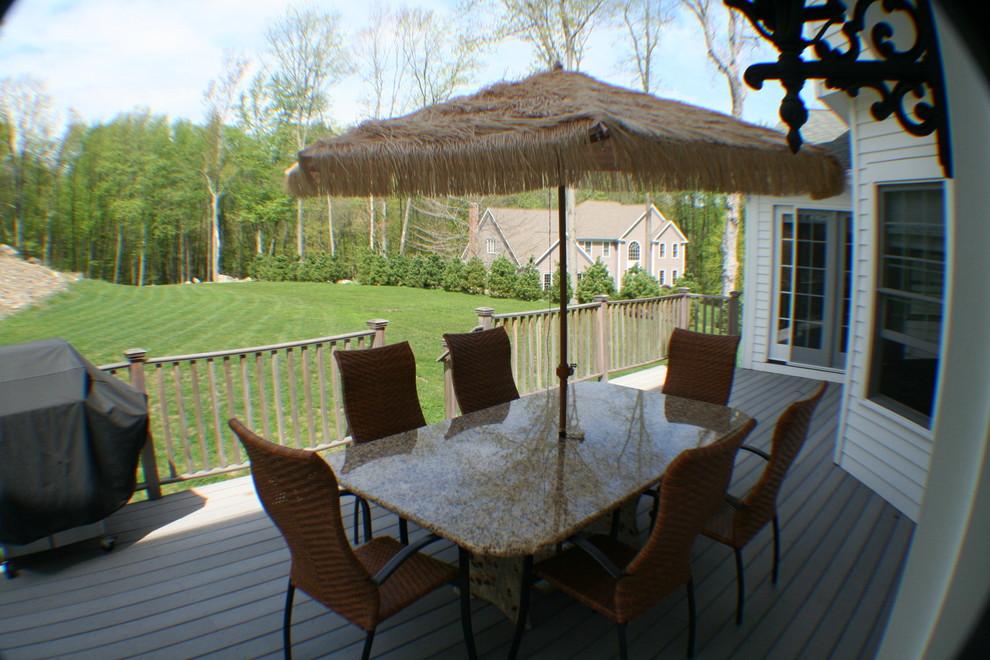 granite patio table mediterranean