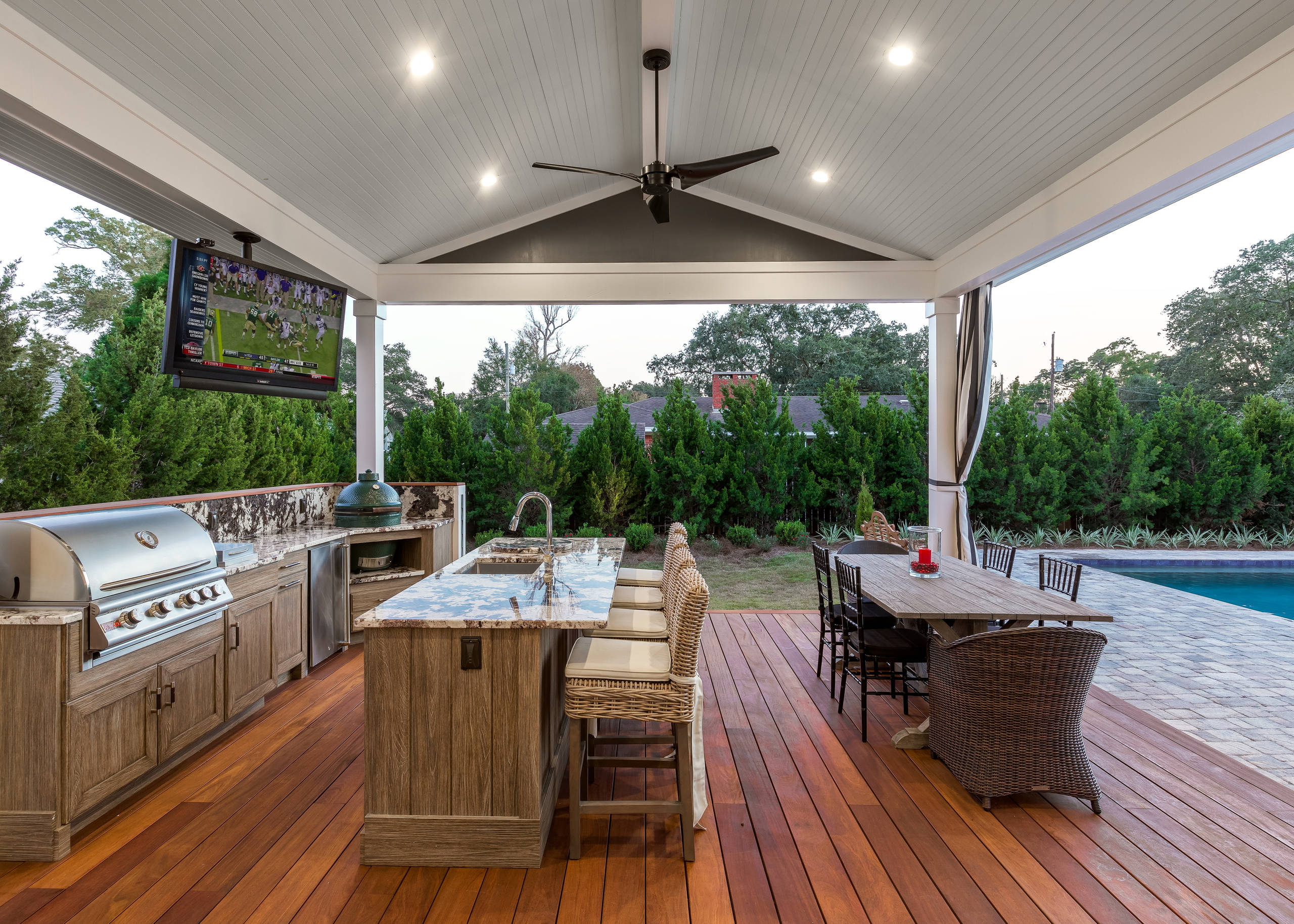 75 Beautiful Outdoor Kitchen Design Pictures Ideas November 2020 Houzz