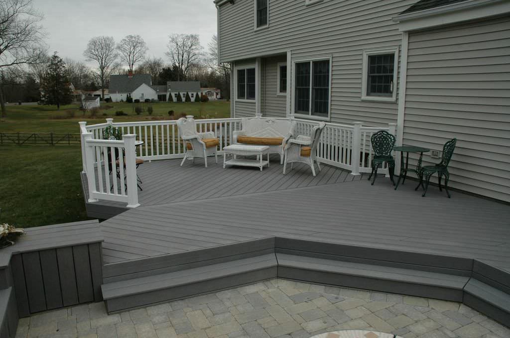 deck patio combinations houzz