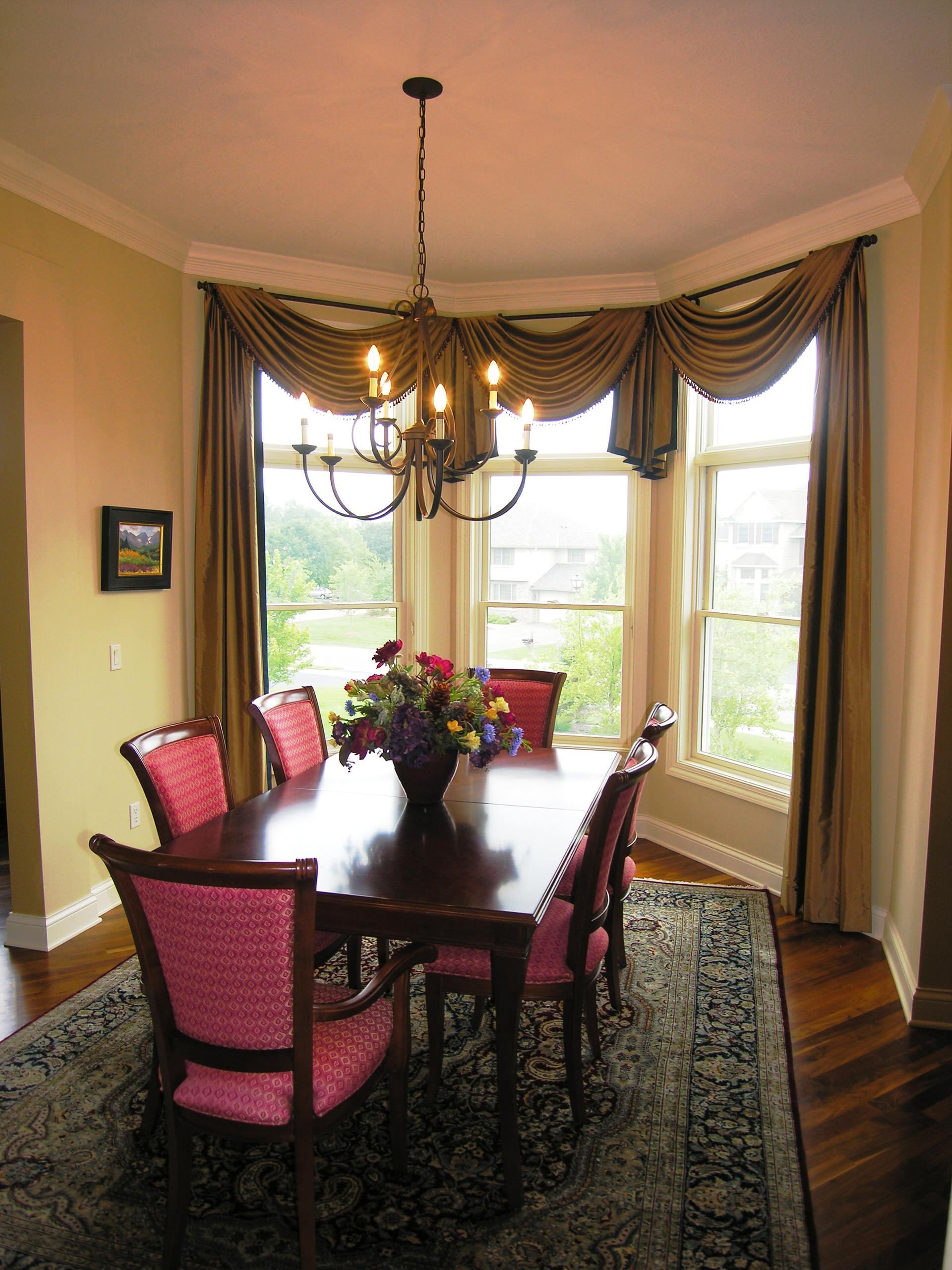 dining room window treatments houzz