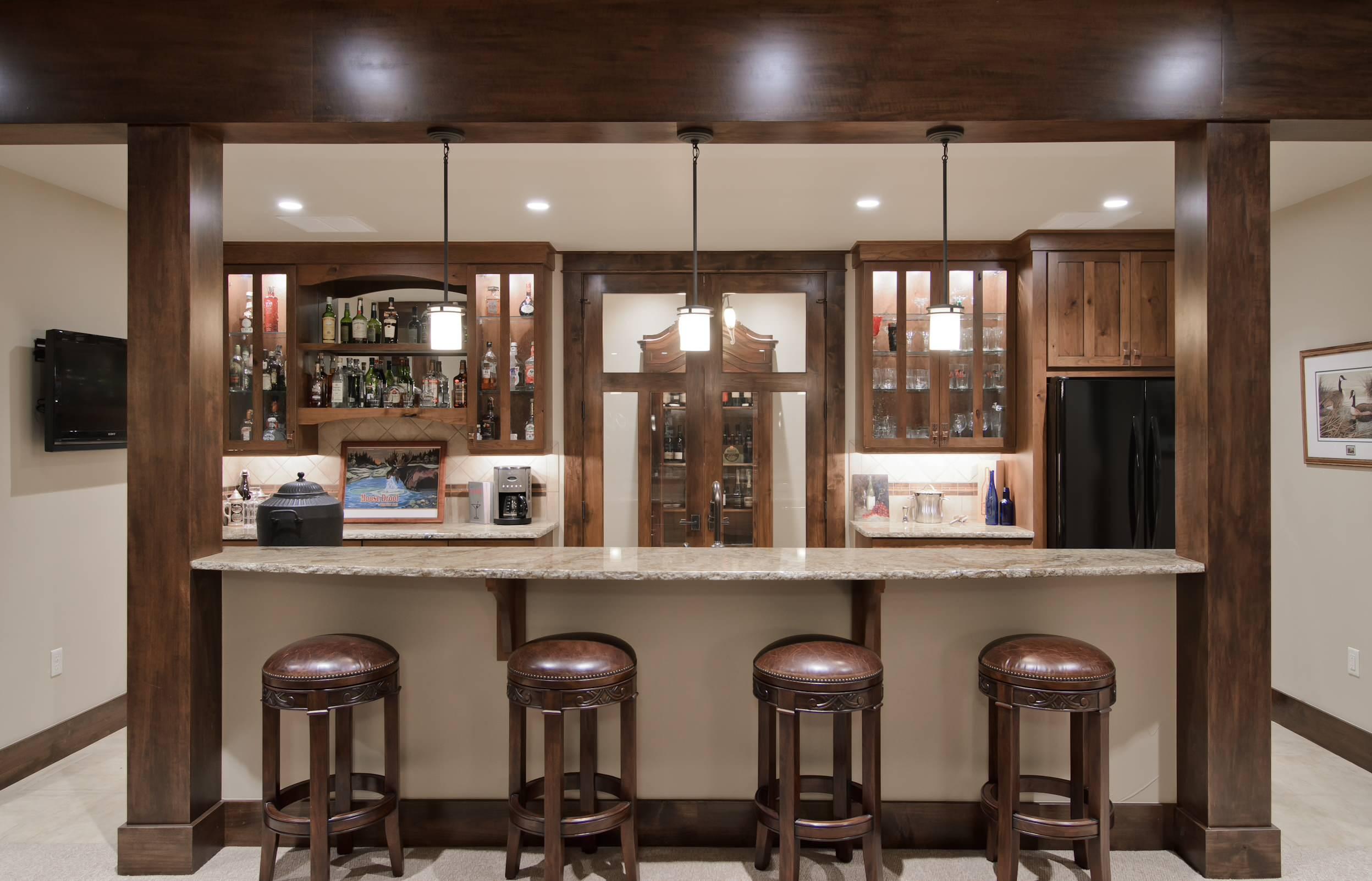 home bar lighting ideas houzz