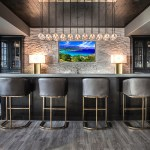 75 Beautiful Home Bar With Stone Tile Backsplash Pictures Ideas December 2020 Houzz