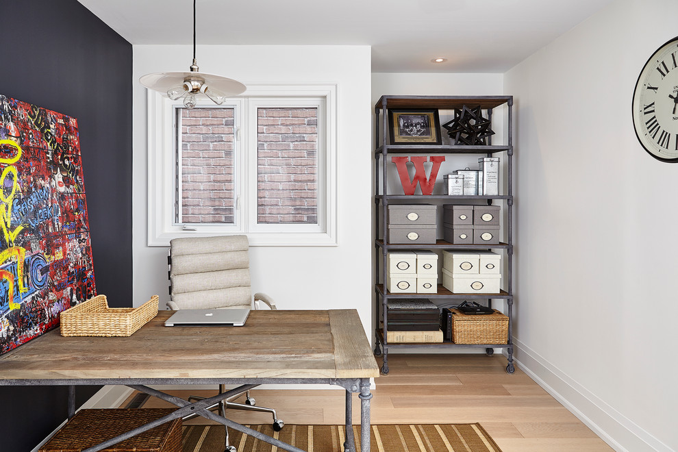 French Modern Inspired Villa - Contemporary - Home Office ...