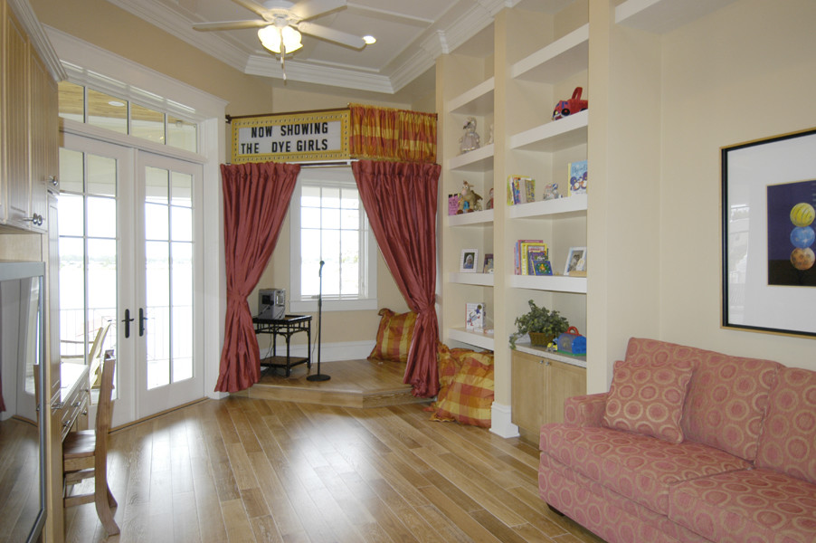 playroom stage curtains detail houzz