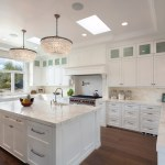 75 Beautiful Kitchen With White Backsplash And White Countertops Pictures Ideas December 2020 Houzz
