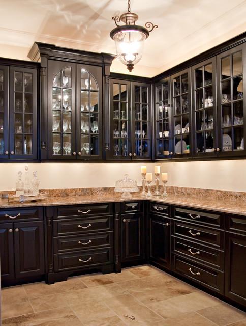 Black Butler S Pantry Kitchen Charleston By Hostetler Custom Cabinetry Houzz Au