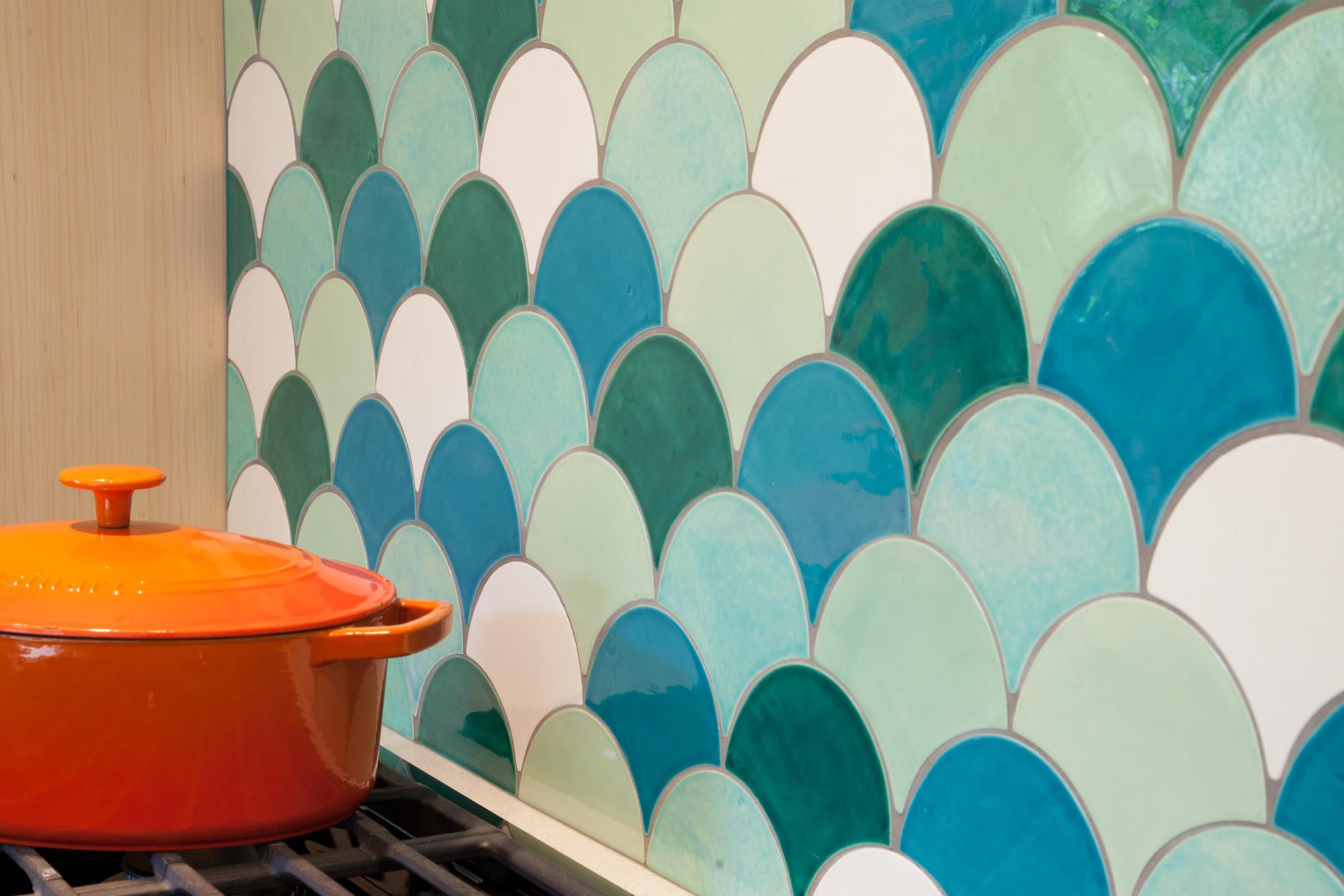 fish scale tiles houzz