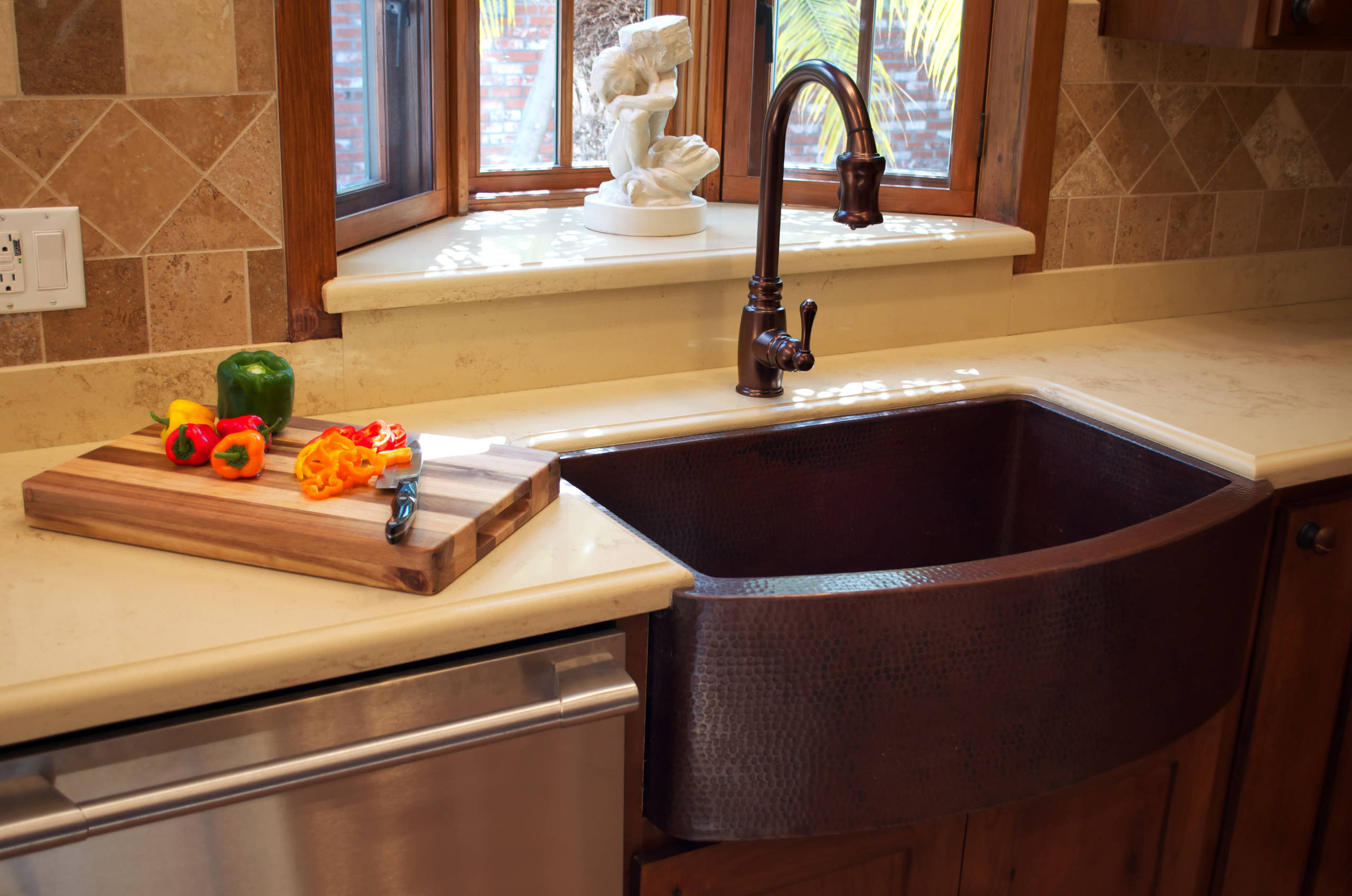 Copper Farmhouse Sink Houzz