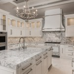 75 Beautiful Marble Floor Kitchen With Green Countertops Pictures Ideas December 2020 Houzz