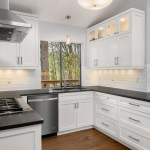 75 Beautiful White Kitchen With Black Countertops Pictures Ideas December 2020 Houzz