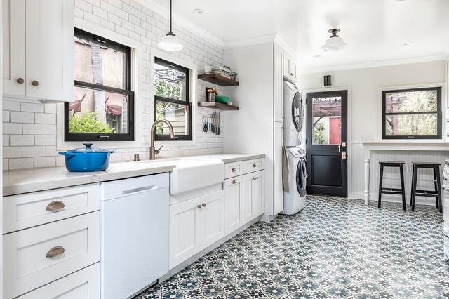 ibiza cement tile kitchen