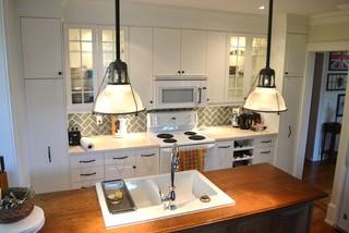 Ikea Kitchens Hittarp Farmhouse Kitchen Toronto By Home Reborn Houzz