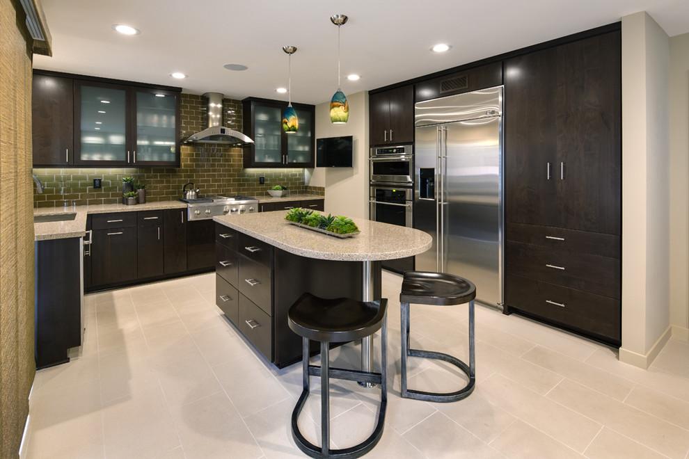 irvine ca transitional kitchen