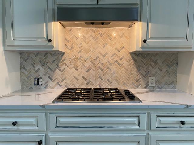 kitchen backsplash polished dolomite