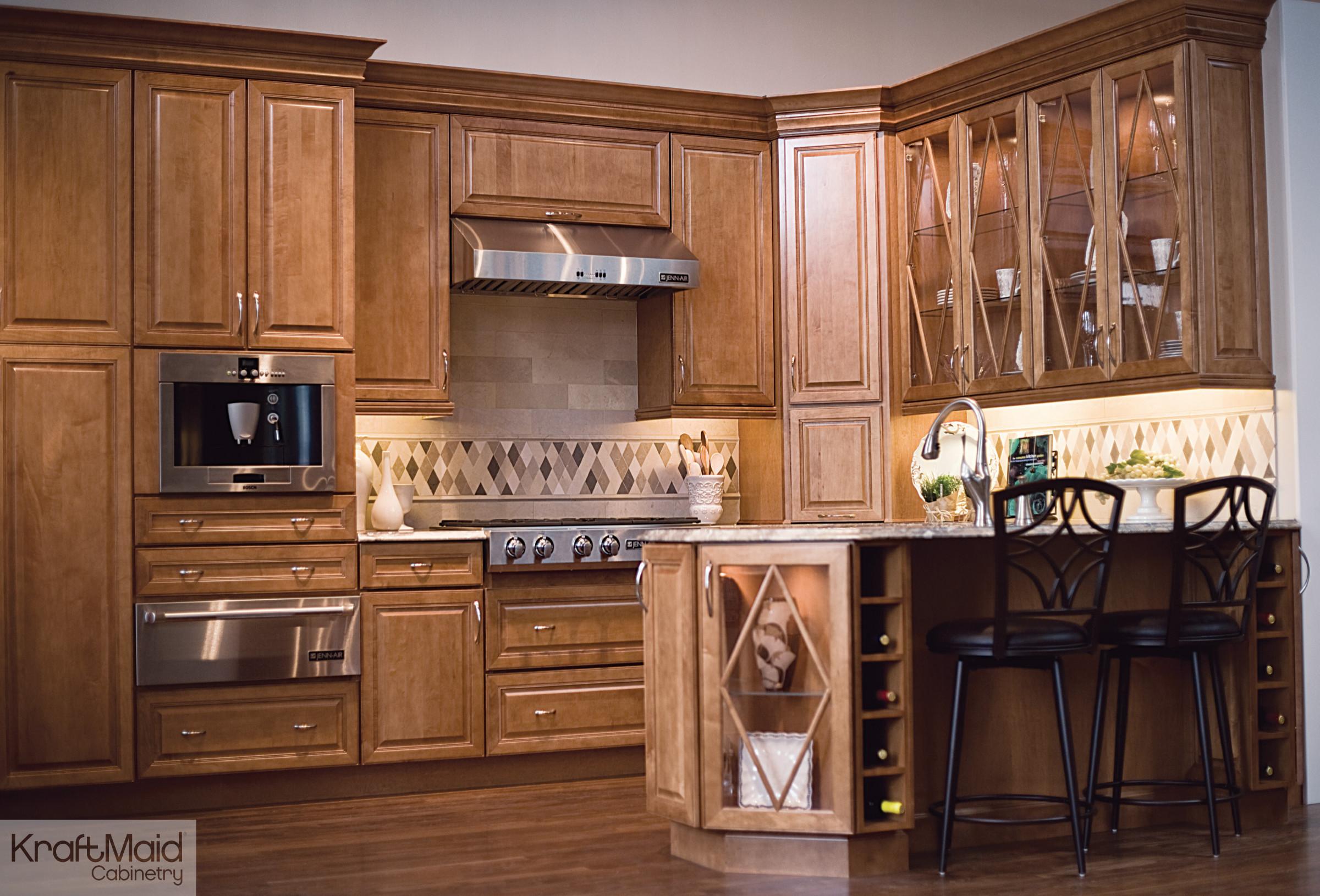 kraftmaid harper maple cabinets houzz