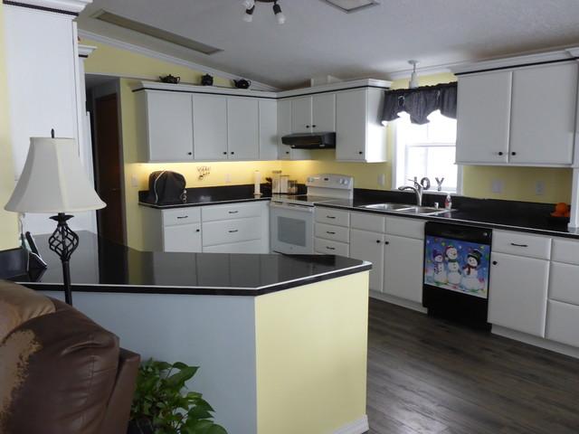 mobile home kitchen transformation