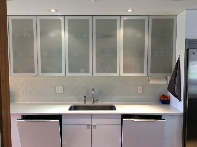 Modern Ikea Kitchen In Colorado Craftsman Home Modern Kitchen Denver By Traemand Houzz Ie