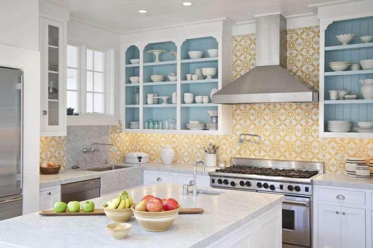 75 Beautiful Kitchen With Yellow Backsplash Pictures Ideas January 2021 Houzz