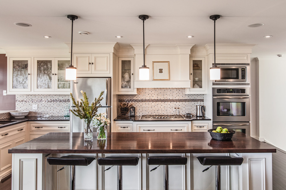 my houzz custom transitional home with