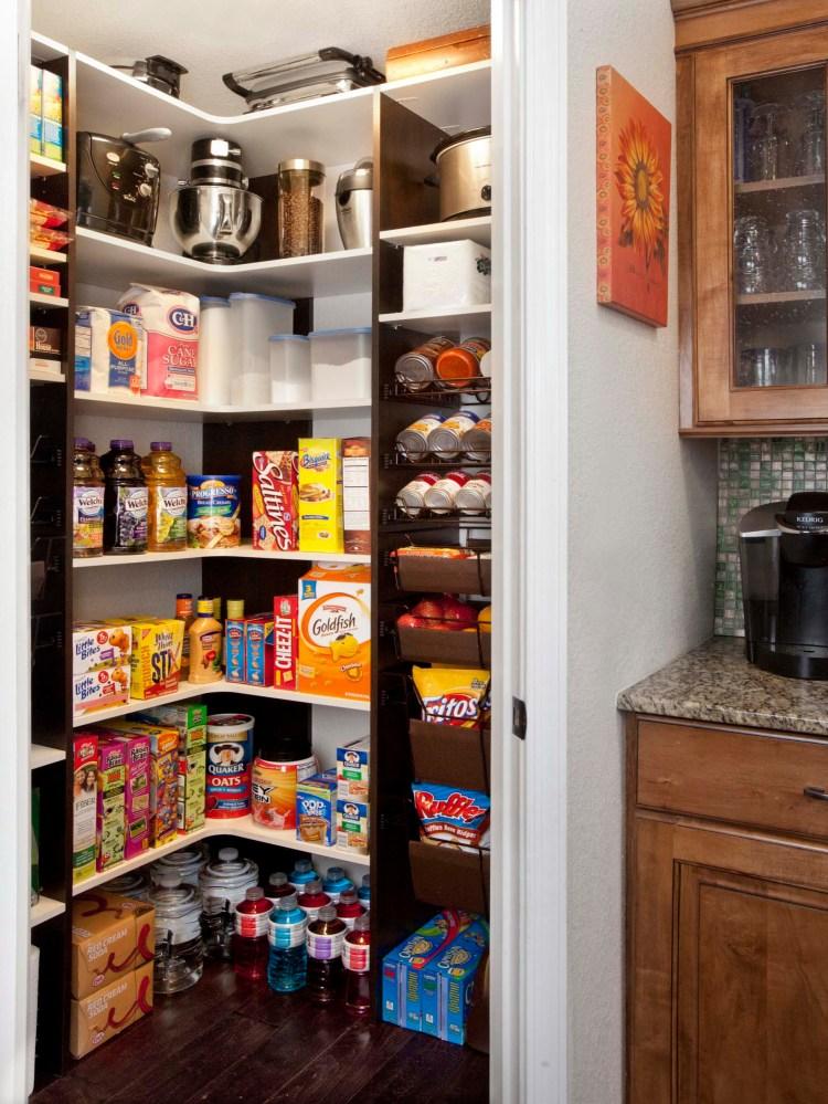 Pantry Corner Shelves Houzz
