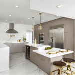 75 Beautiful Kitchen With Brown Cabinets And Marble Countertops Pictures Ideas December 2020 Houzz