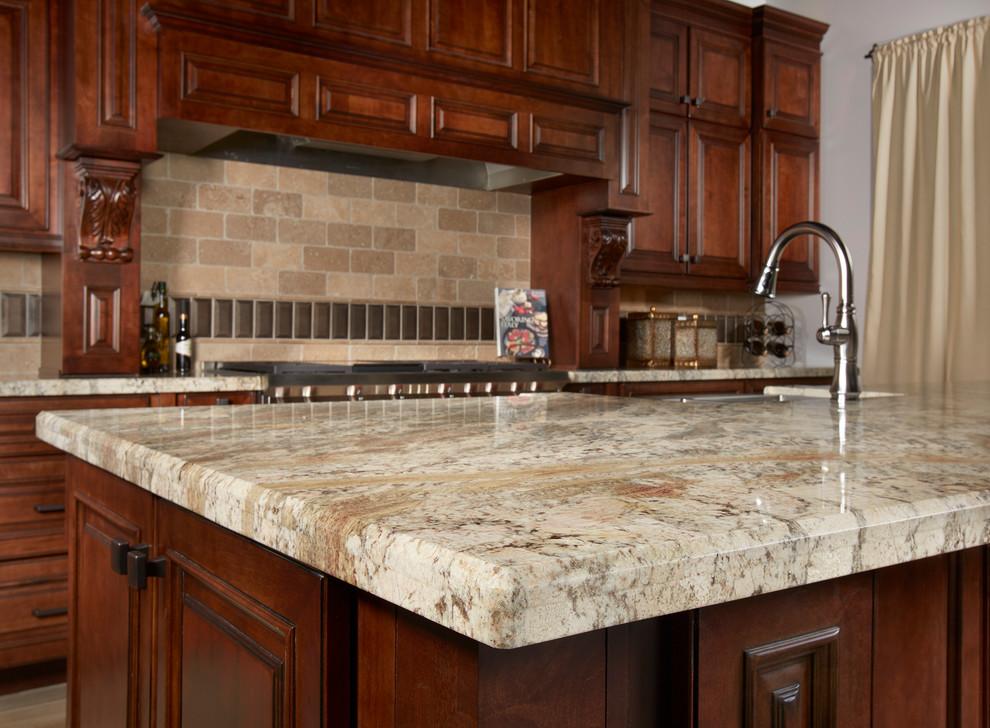 river bordeaux granite kitchen