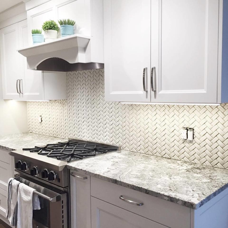 sonoma tilemakers arched herringbone