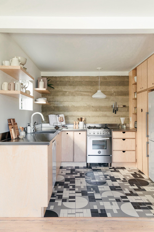 Black And White Tile Floor Kitchen Ideas Photos Houzz