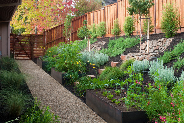 Comment Amenager Un Jardin En Pente