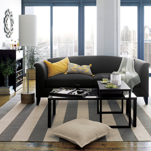 crate and barrel living contemporary