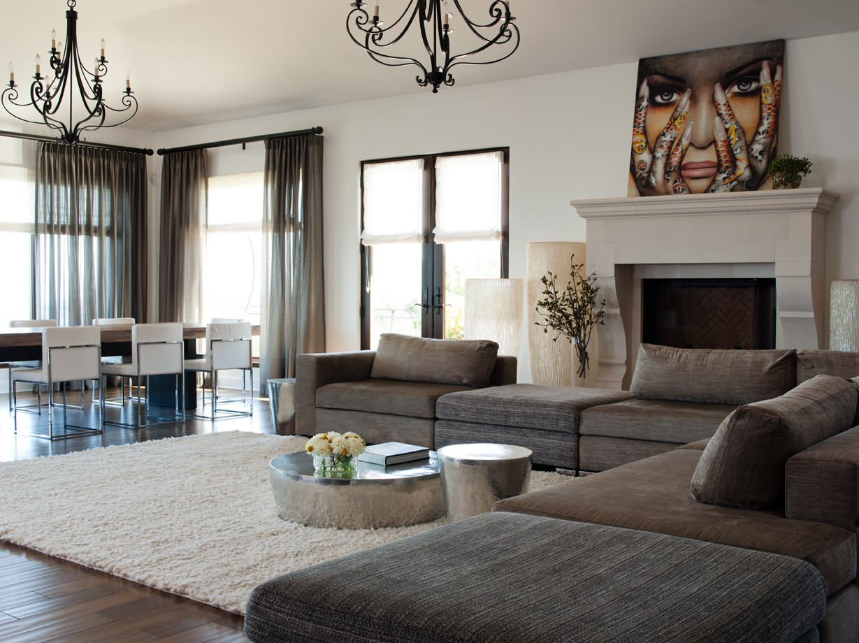 gray sofa living room ideas photos