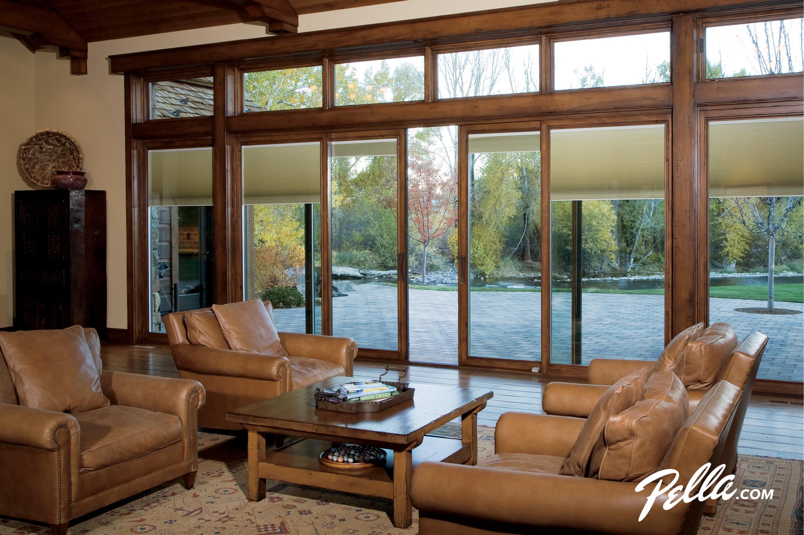 pella designer series sliding patio