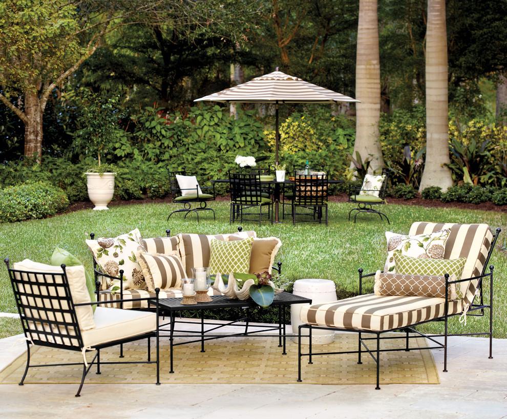 contemporary patio atlanta