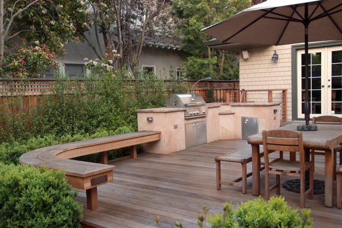 Deck East Facing Mediterranean Patio San Francisco By Verdance Landscape Architecture Houzz