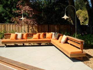 outdoor bench seating ideas photos