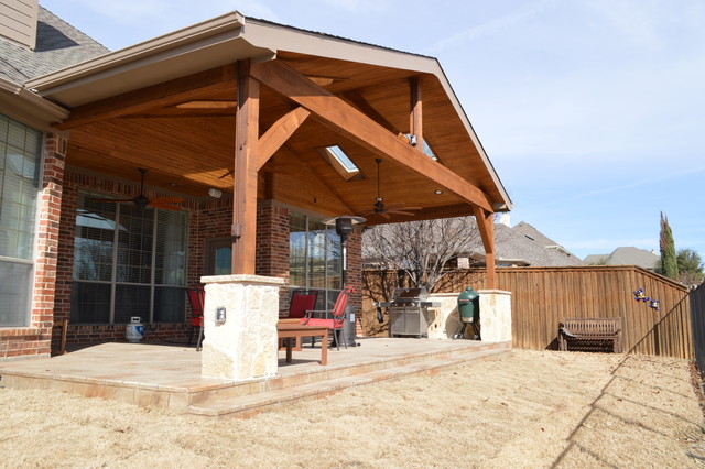 garland tx patio cover with skylights