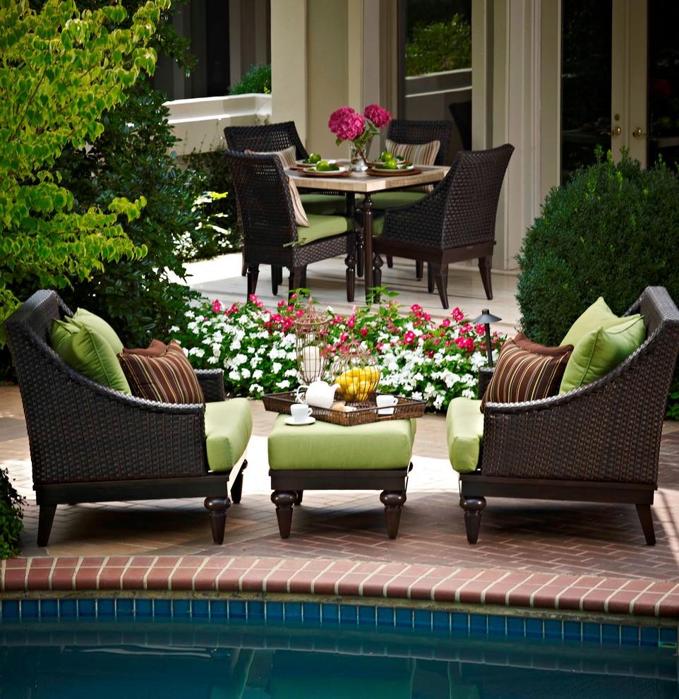 traditional patio austin
