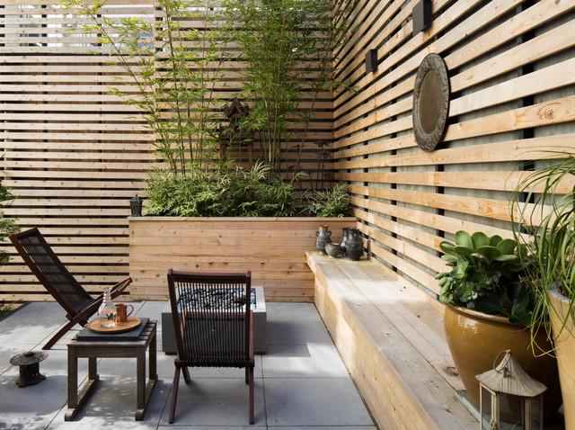 claustra exterieur dans son jardin