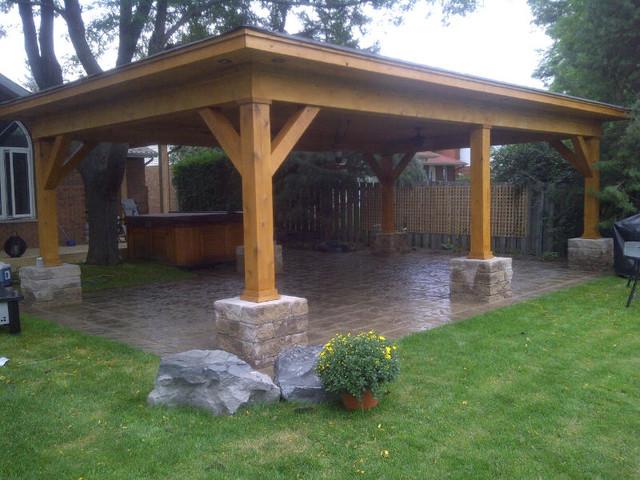 outdoor cabana shelter contemporary