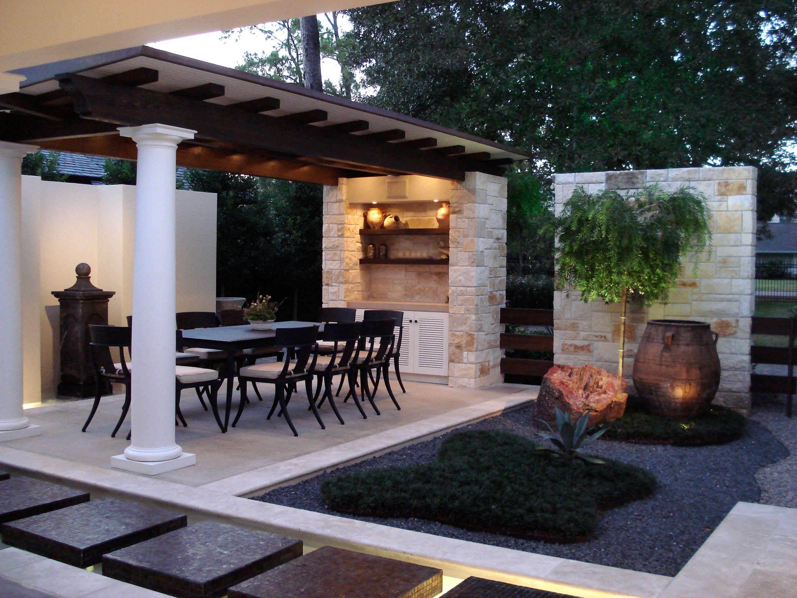 75 beautiful small patio with a gazebo