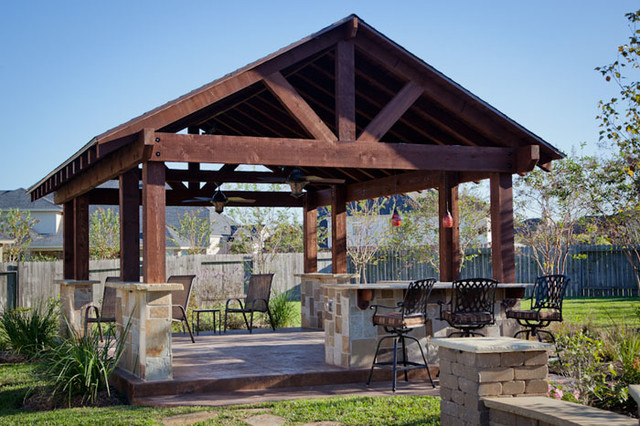 outdoor patio structure for