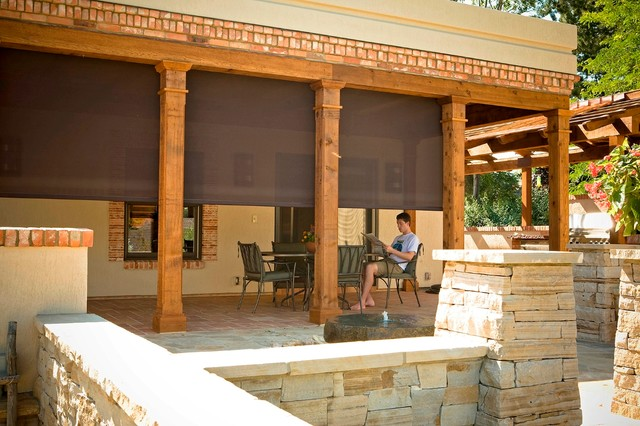 outdoor shades for patios screen