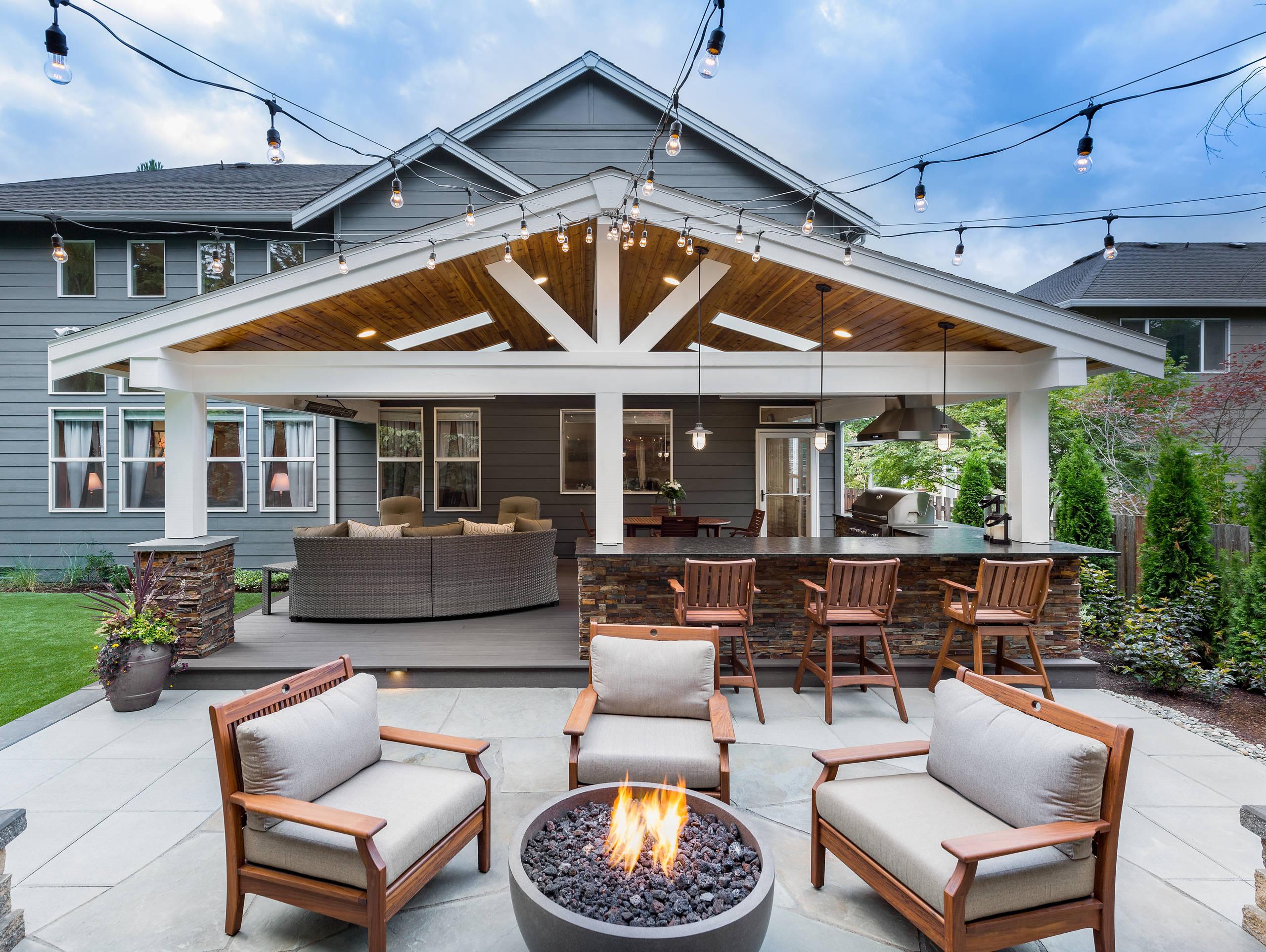 sammamish outdoor living and backyard