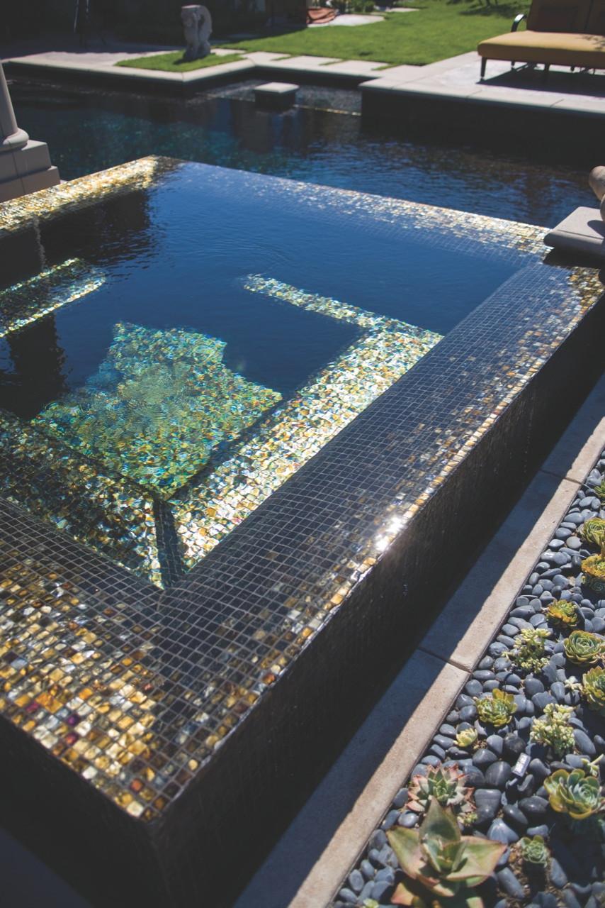 oceanside tessera glass tile houzz
