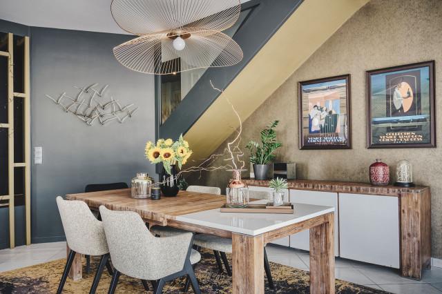 maison contemporaine dans un style art
