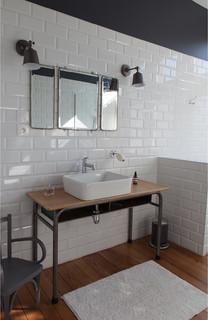 salle de bain industrielle photos et