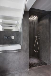 idees de salles de bain grise photos
