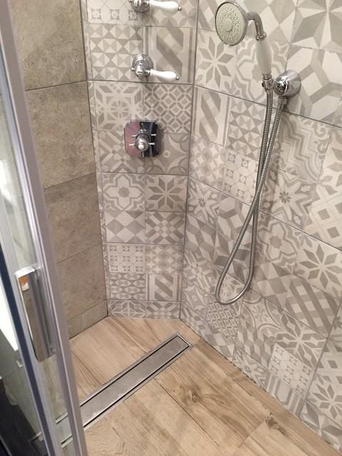 petite salle d eau avec style carreaux